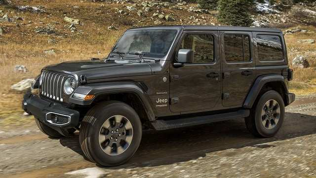 58 All New 2020 Jeep Wrangler Diesel Concept And Review