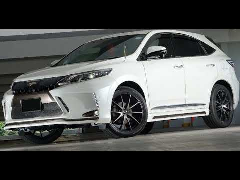 58 All New Toyota Harrier 2020 Review And Release Date