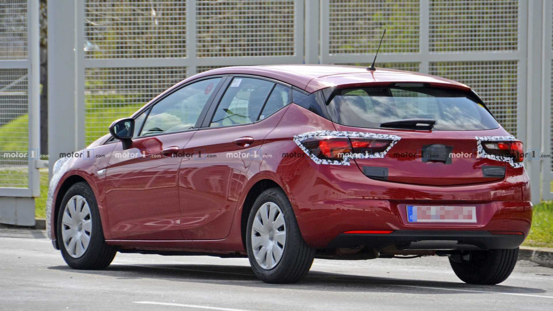 58 Best 2019 New Opel Astra Spy Shoot
