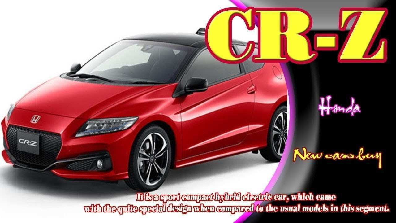 58 Best 2020 Honda Cr Z Redesign And Review