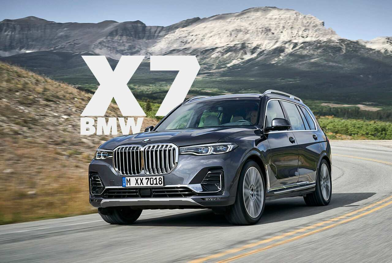 58 New 2019 BMW X7 Photos