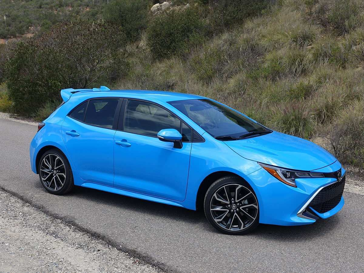 58 New 2019 Toyota Corolla Hatchback Price And Release Date