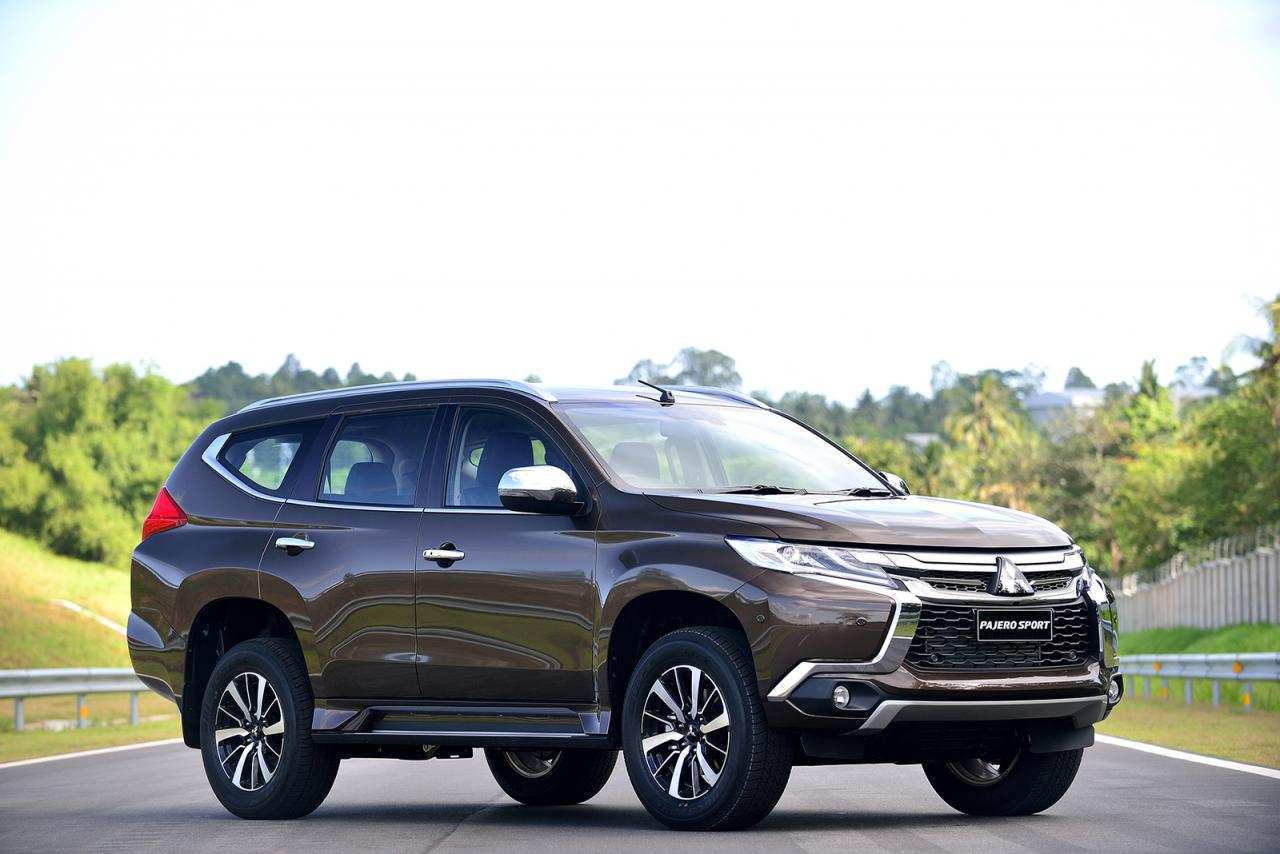 58 New 2020 Mitsubishi Montero Sport Concept And Review