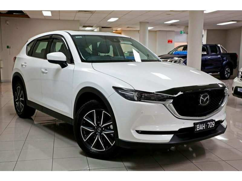 58 New Mazda Cx 5 2019 White Release