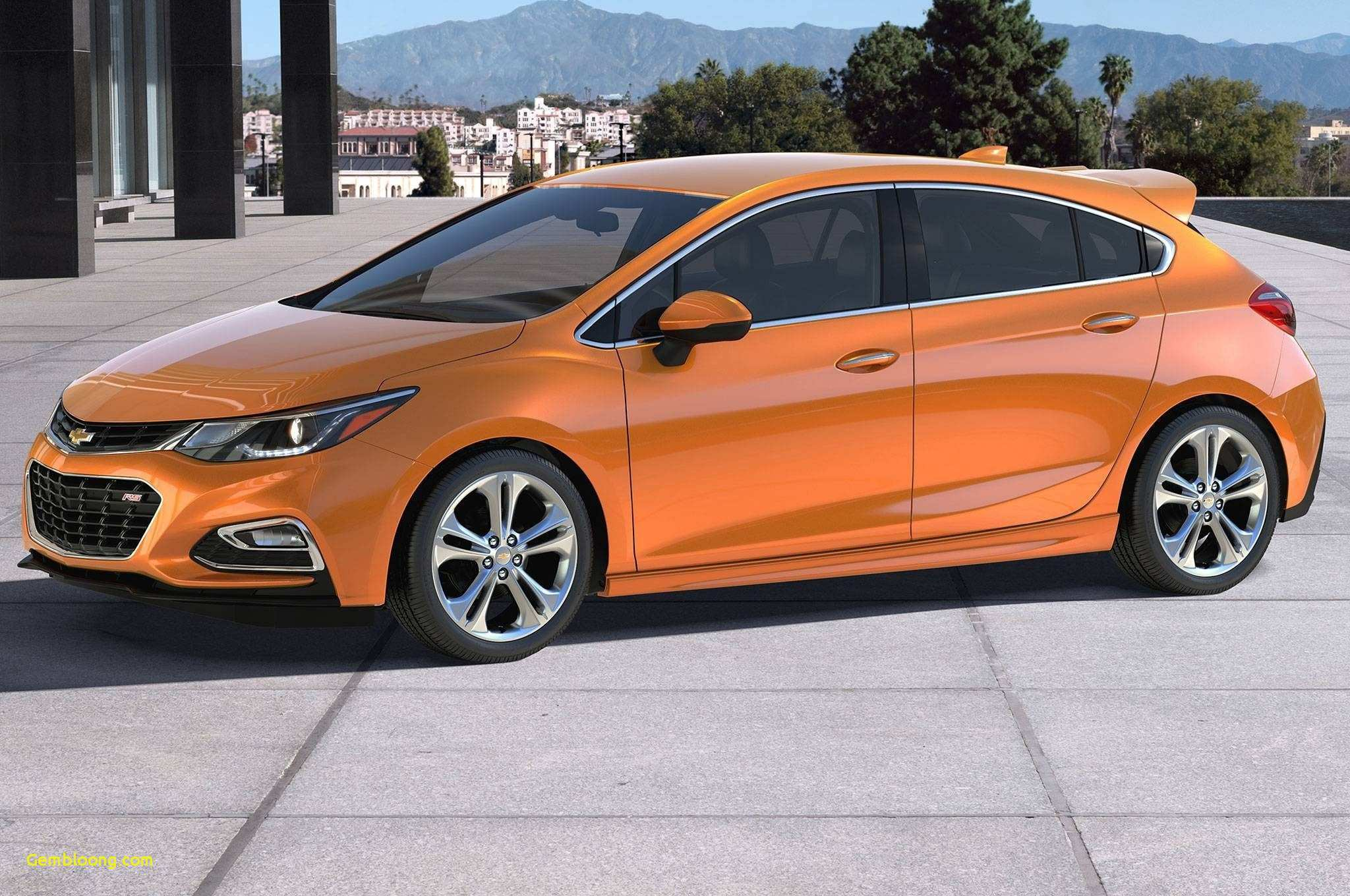 58 The 2019 Chevy Sonic Ss Ev Rs Redesign