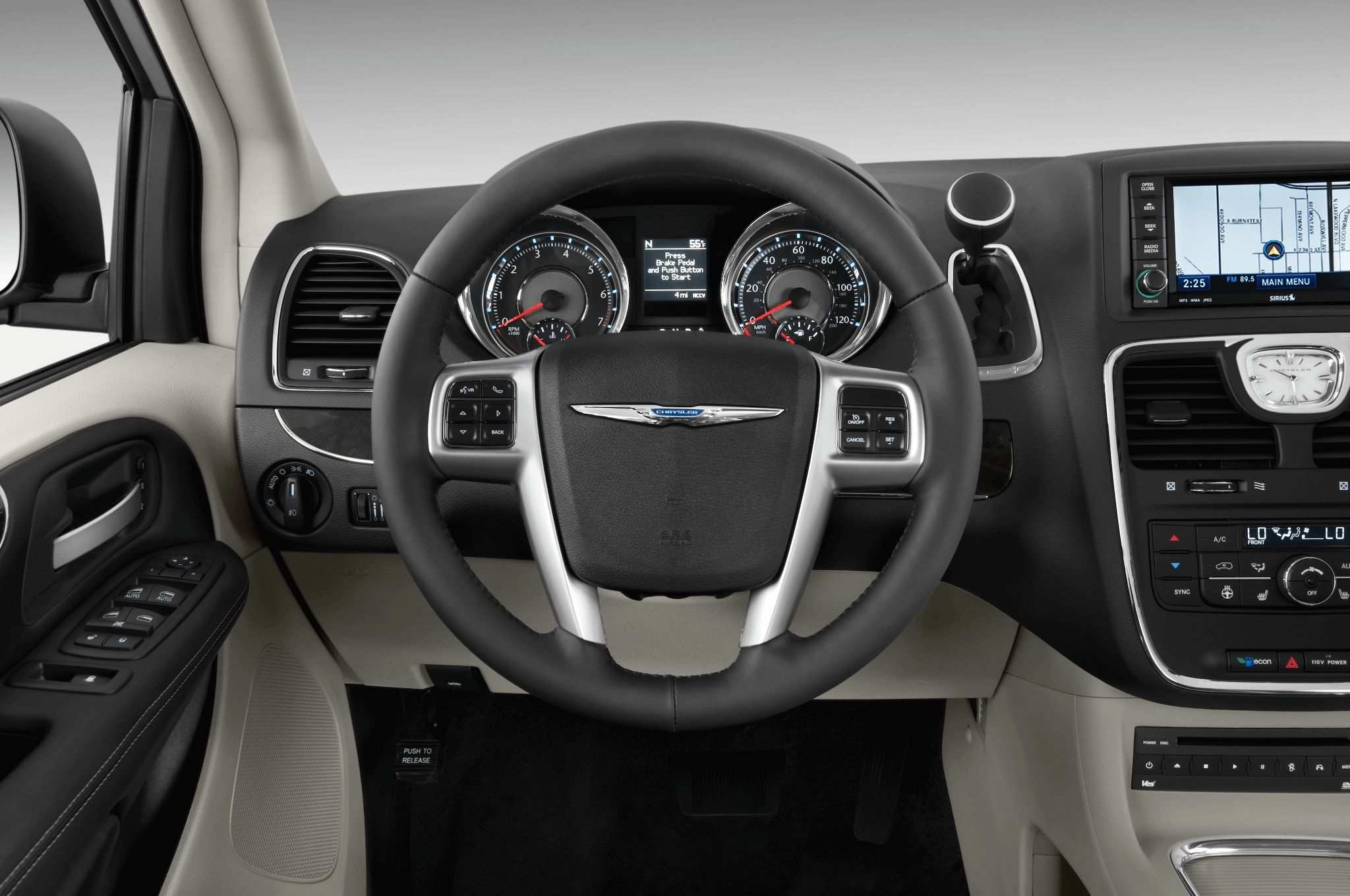 58 The 2019 Chrysler Town Interior