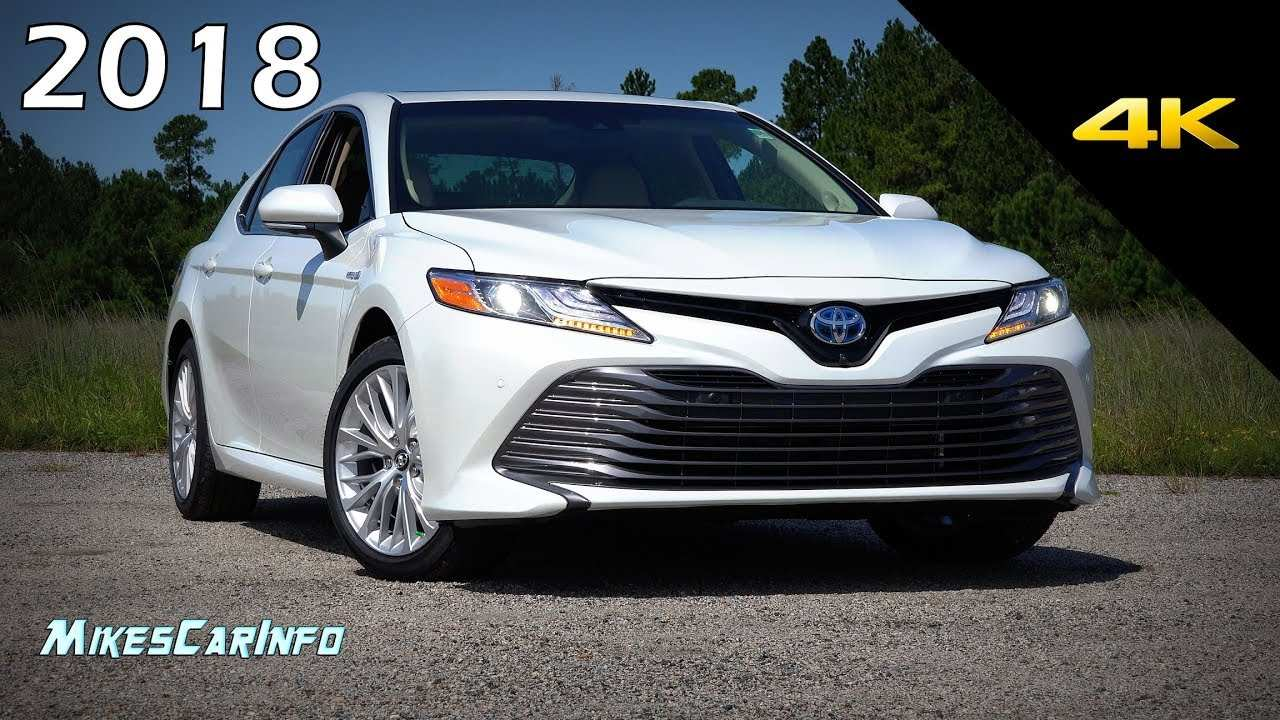 58 The 2019 Toyota Camry Se Hybrid Interior