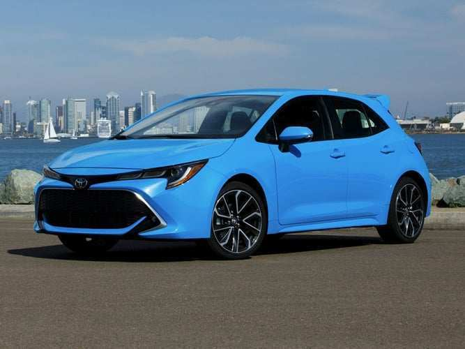 58 The 2019 Toyota Corolla Hatchback New Model And Performance