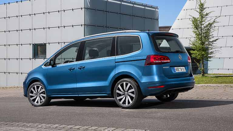 58 The 2019 VW Sharan Interior