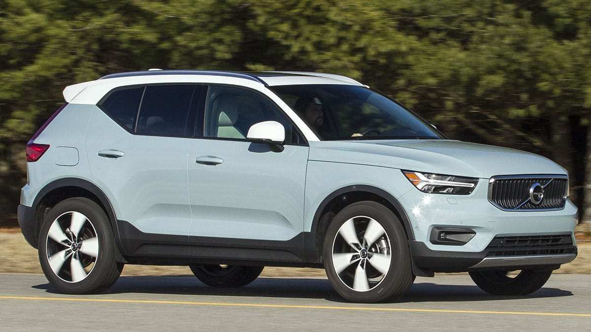 58 The 2019 Volvo Xc40 Mpg Exterior