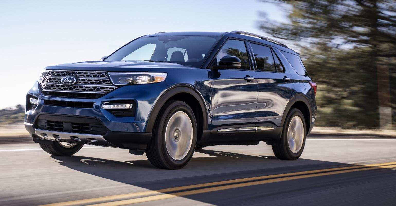 58 The 2020 Ford Explorer Speed Test