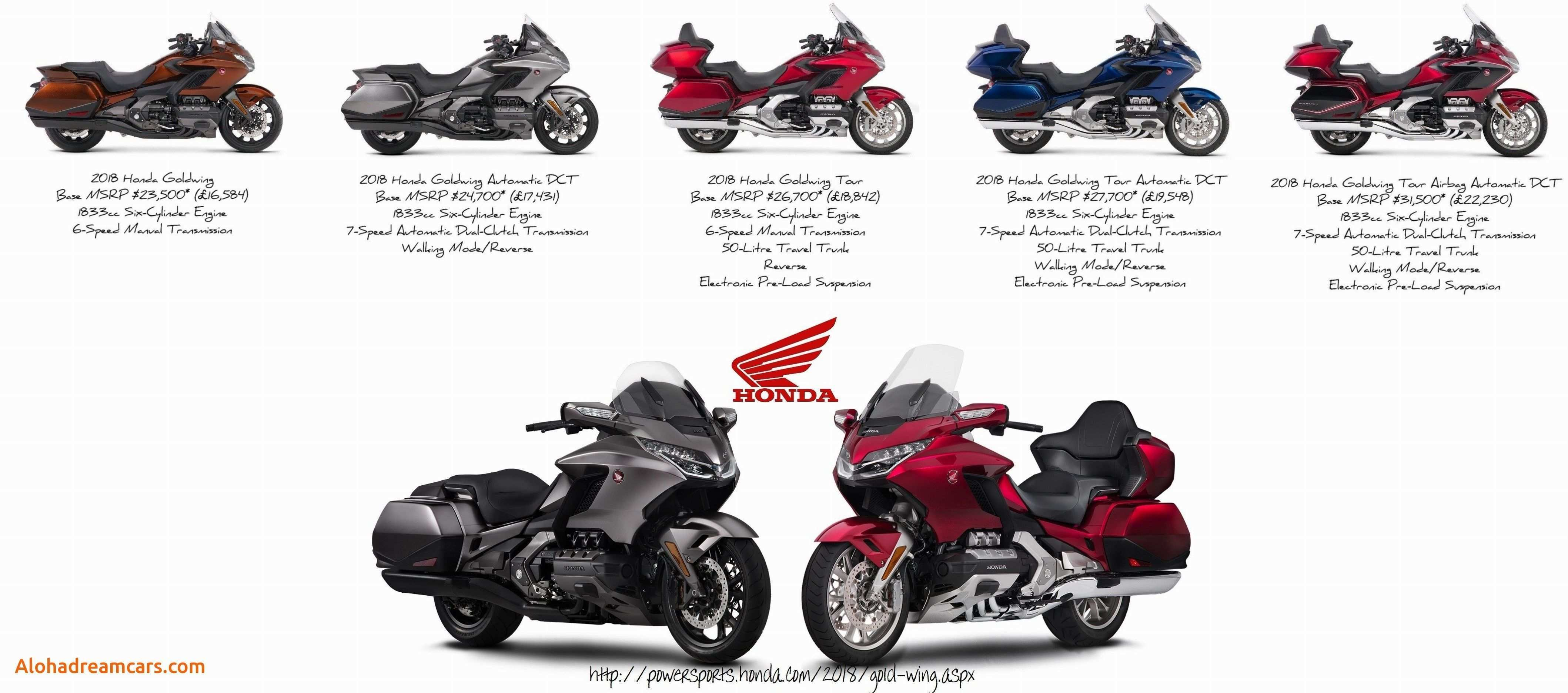 58 The 2020 Honda Gold Wing Overview