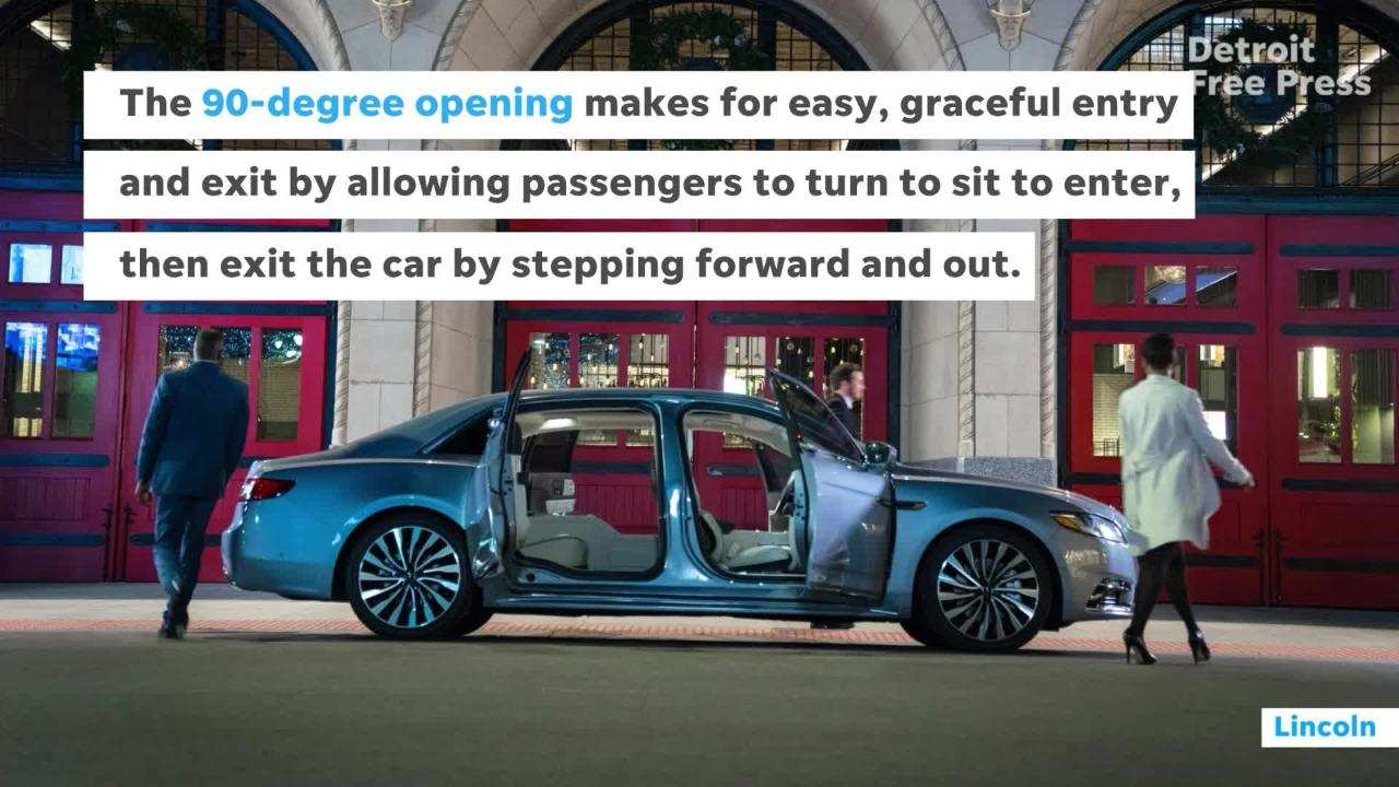 58 The 2020 Lincoln Continental Picture