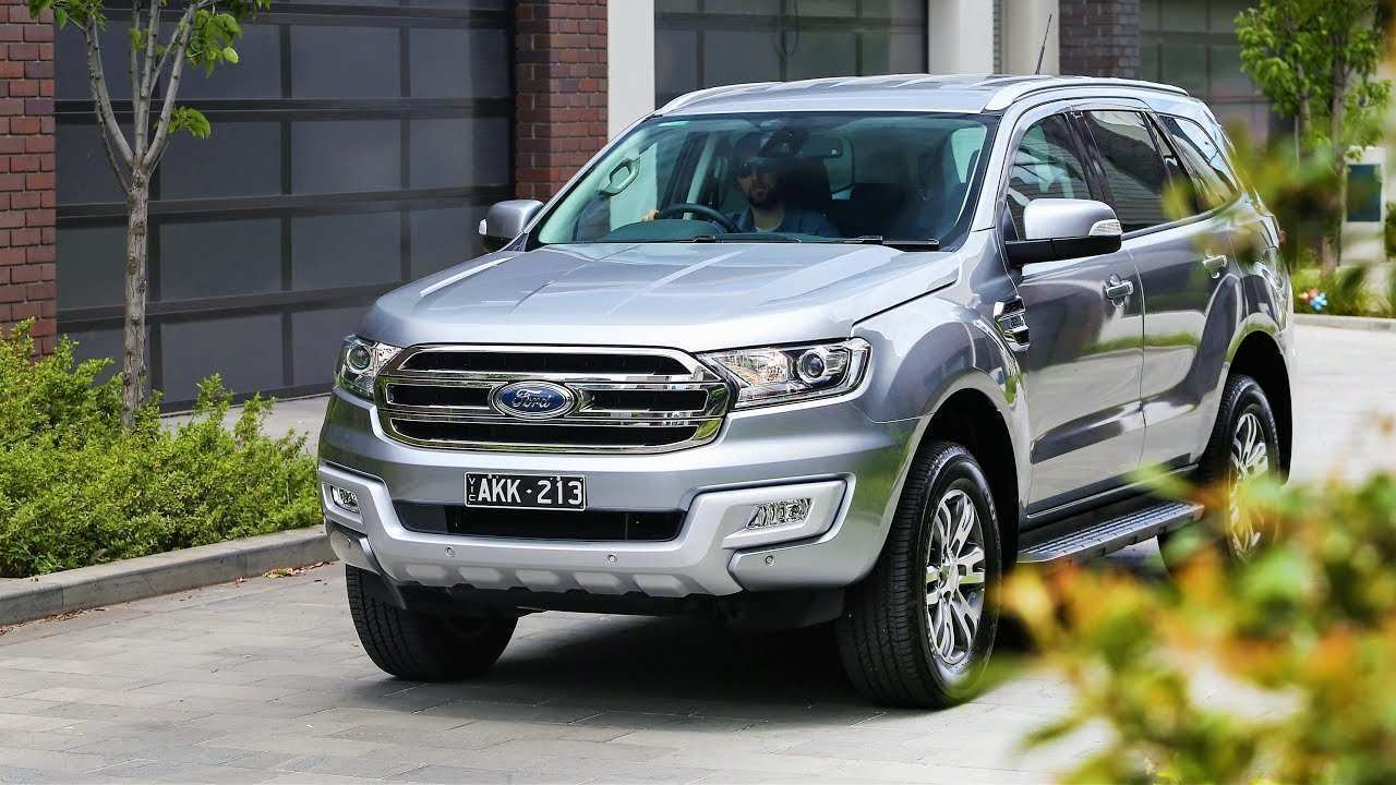 58 The Best 2019 Ford Everest Performance And New Engine