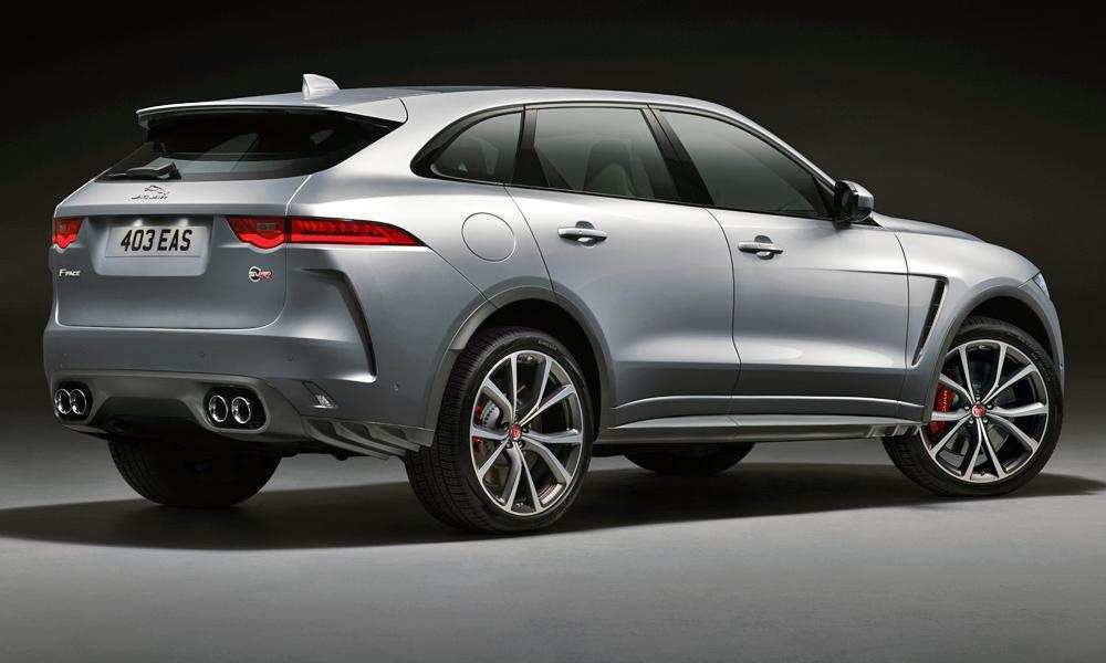 58 The Best 2019 Jaguar F Pace Svr Wallpaper