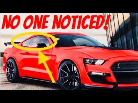 58 The Best 2020 The Spy Shots Ford Mustang Svt Gt 500 Configurations