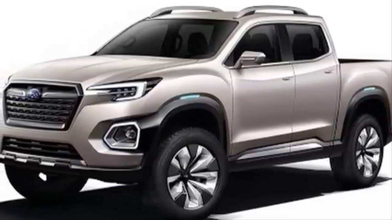58 The Best Subaru Pickup Truck 2019 Specs