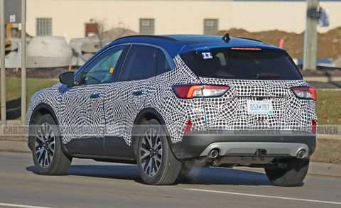 58 The Ford Kuga 2020 Spy Shots Price Design And Review