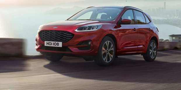58 The Ford New Kuga 2020 Concept