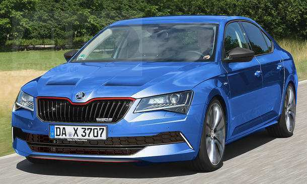 59 A 2019 Skoda Superb Spesification