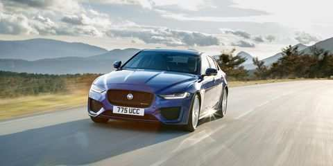 59 A 2020 All Jaguar Xe Sedan Spesification