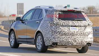 59 A 2020 Chevrolet Equinox Lt Spy Shoot