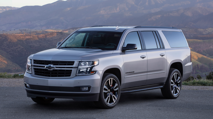 59 A 2020 Chevy Suburban 2500 Z71 Images