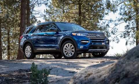 59 A 2020 Ford Explorer Limited Exterior