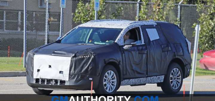 59 All New 2020 Buick Enclave Spy Photos Price Design And Review
