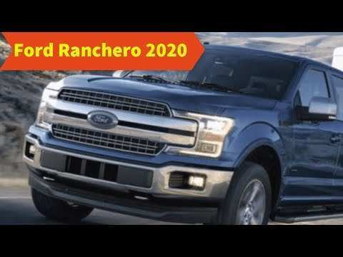 59 All New Ford Ranchero 2020 Price