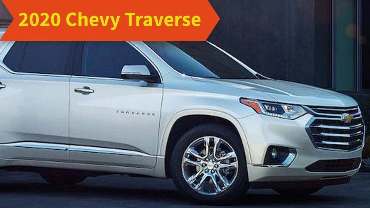 59 Best 2020 Chevy Traverse Research New