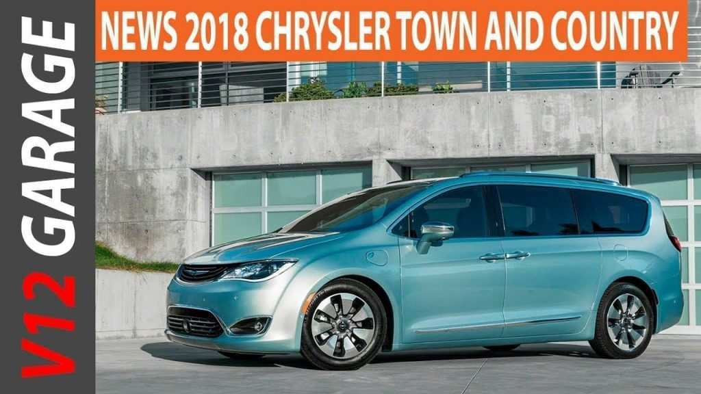 59 New 2019 Chrysler Town Country Spy Shoot