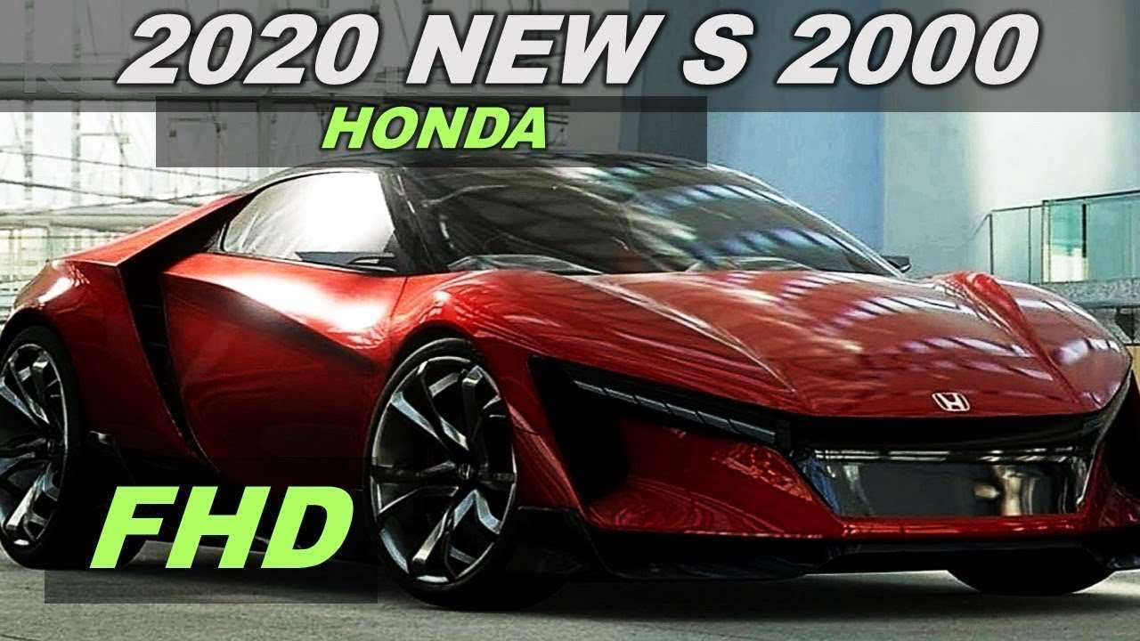 59 New 2020 Honda S2000and Price And Release Date