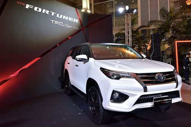 59 New Toyota Fortuner Facelift 2020 India Spesification