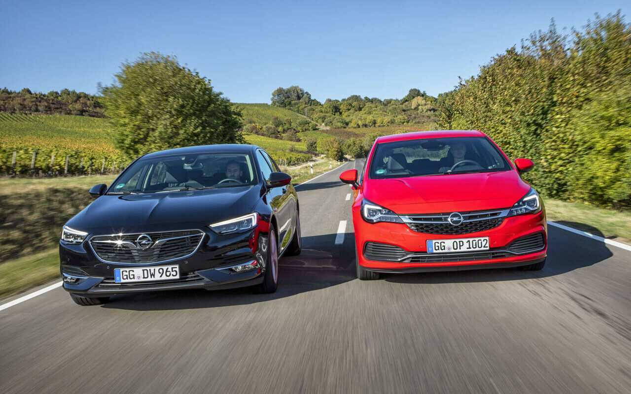 59 The 2019 New Opel Astra Wallpaper