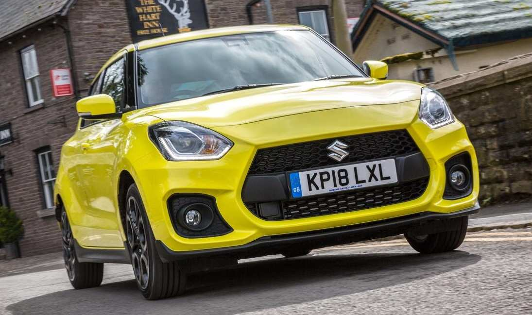 59 The 2019 New Suzuki Swift Sport Speed Test