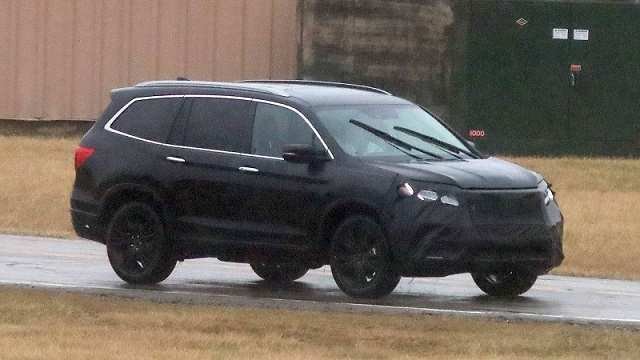 59 The 2020 Honda Pilot Spy Photos Pricing