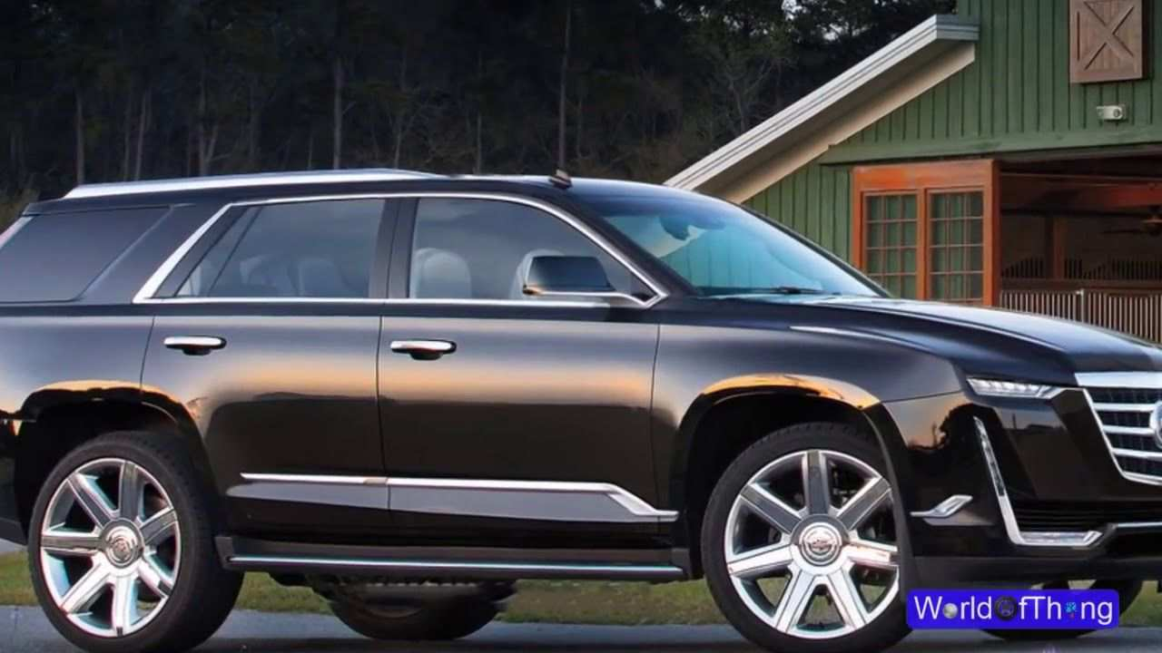 59 The Best 2020 Cadillac Escalade Luxury Suv First Drive