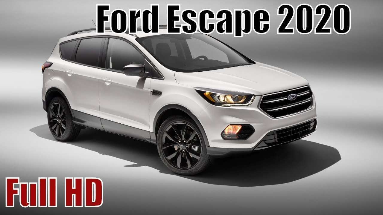59 The Ford Hybrid Escape 2020 Price Design And Review