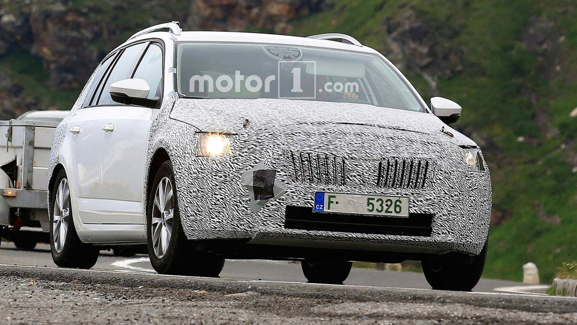 59 The Spy Shots Skoda Superb Redesign And Concept