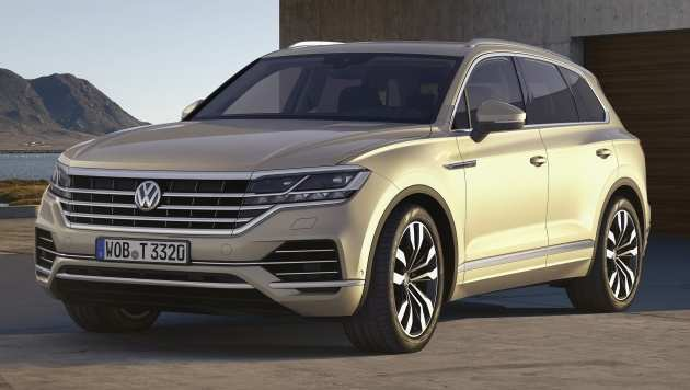 59 The Volkswagen 2019 Touareg Price Redesign And Concept