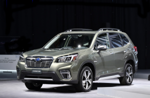 60 A 2020 Subaru Forester First Drive