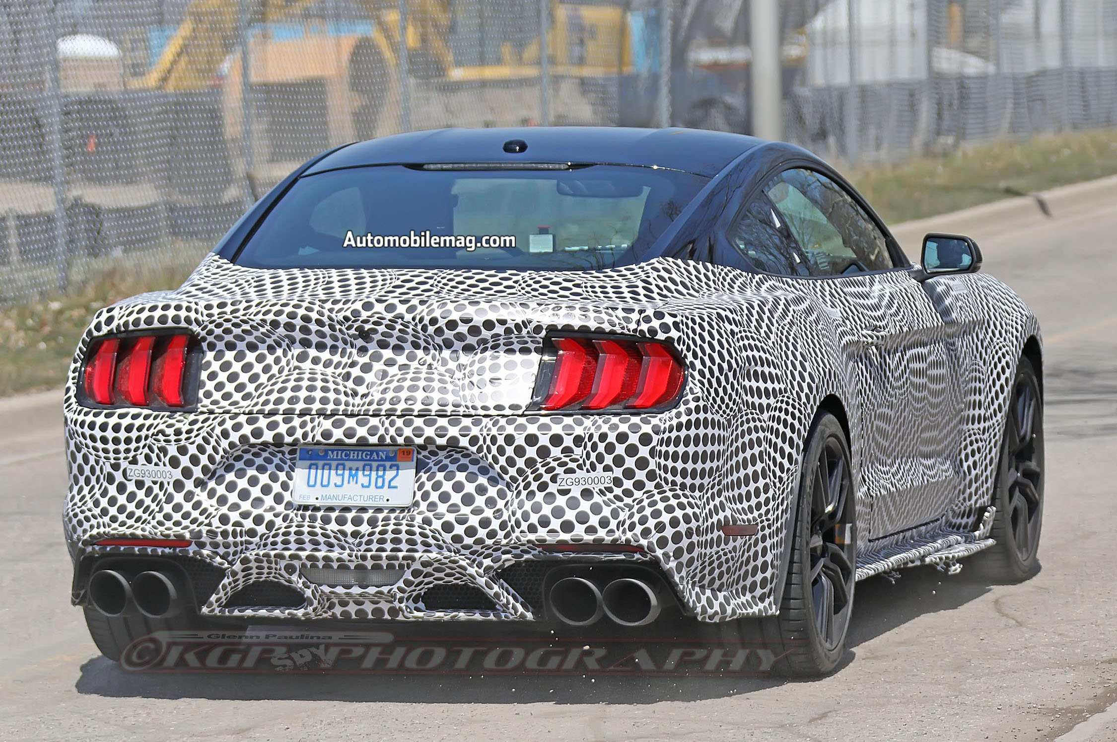 60 A 2020 The Spy Shots Ford Mustang Svt Gt 500 Concept And Review