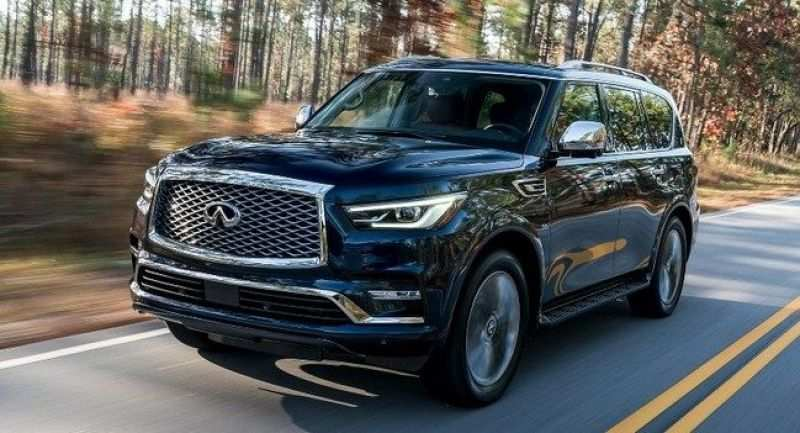 60 A Infiniti Qx80 2020 Interior First Drive