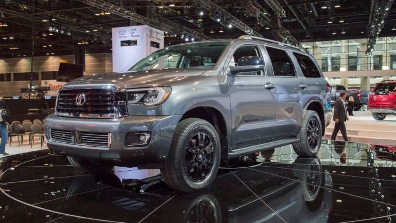 60 A Toyota Sequoia 2019 Redesign First Drive