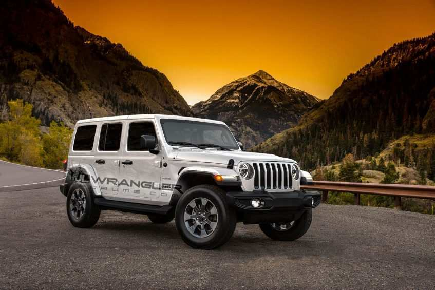 60 All New 2019 Jeep Jl Colors Research New