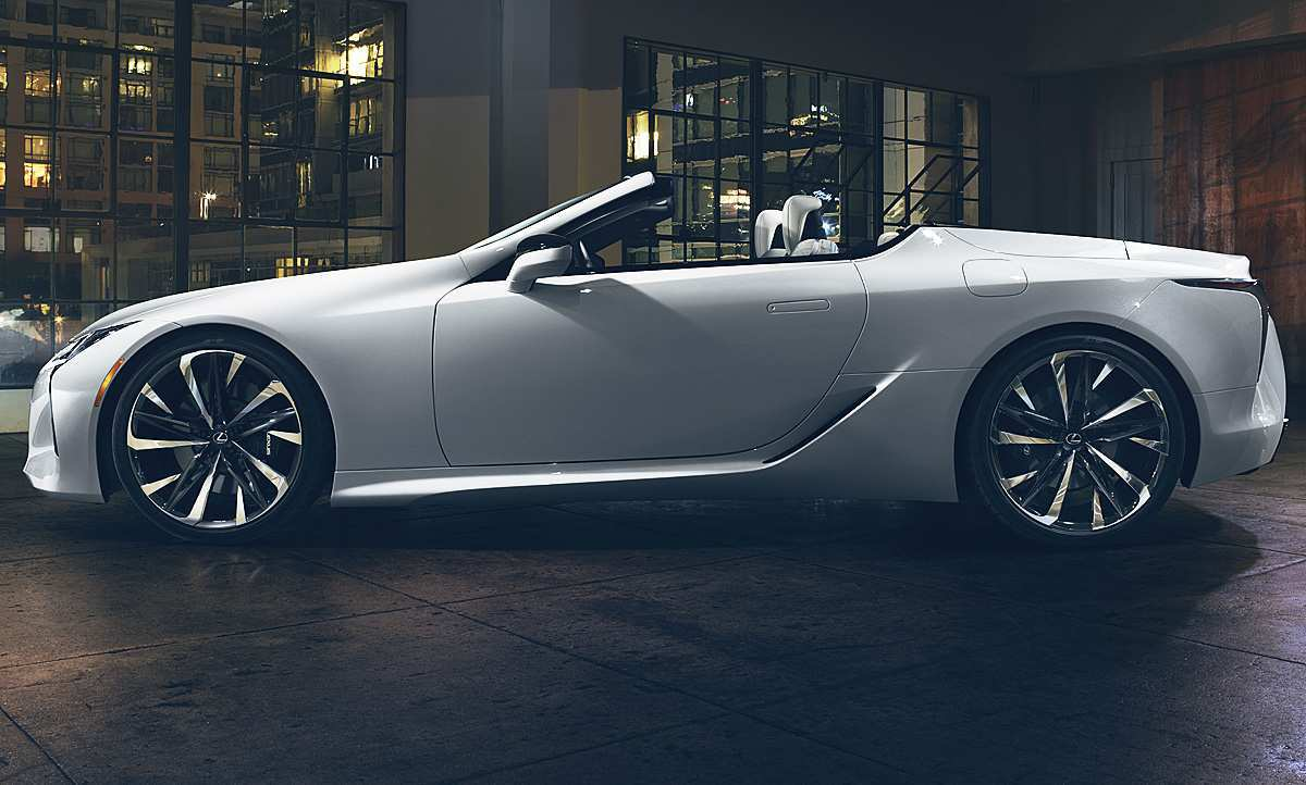 60 All New 2019 Lexus Lf Lc Release Date And Concept