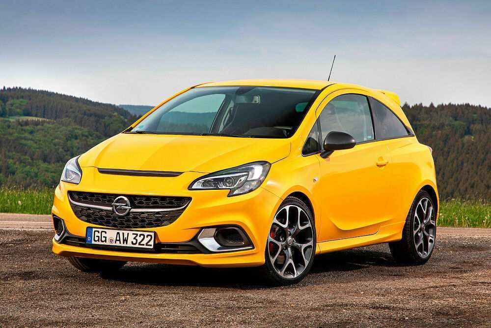 60 All New 2019 Opel Corsa Research New