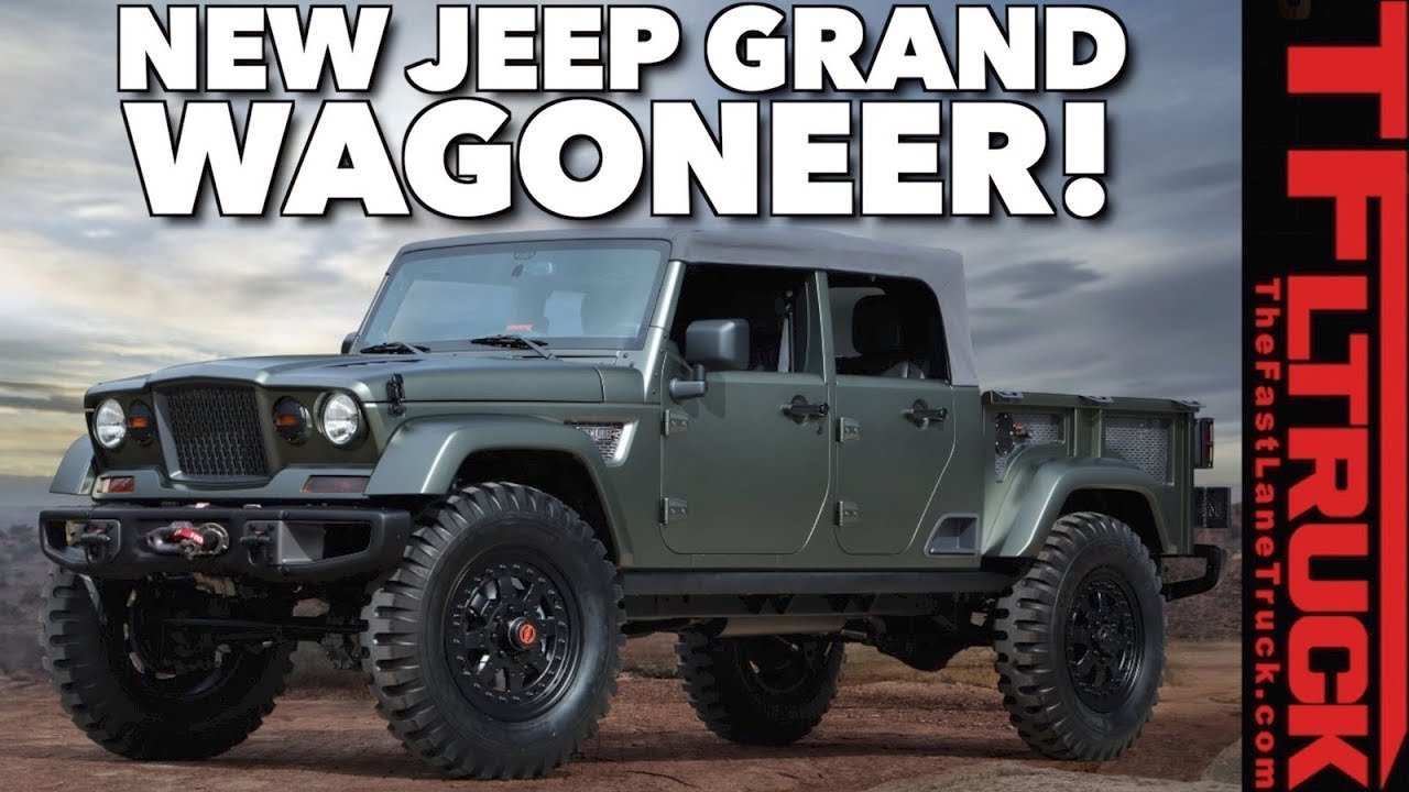 60 All New 2019 The Jeep Grand Wagoneer Concept