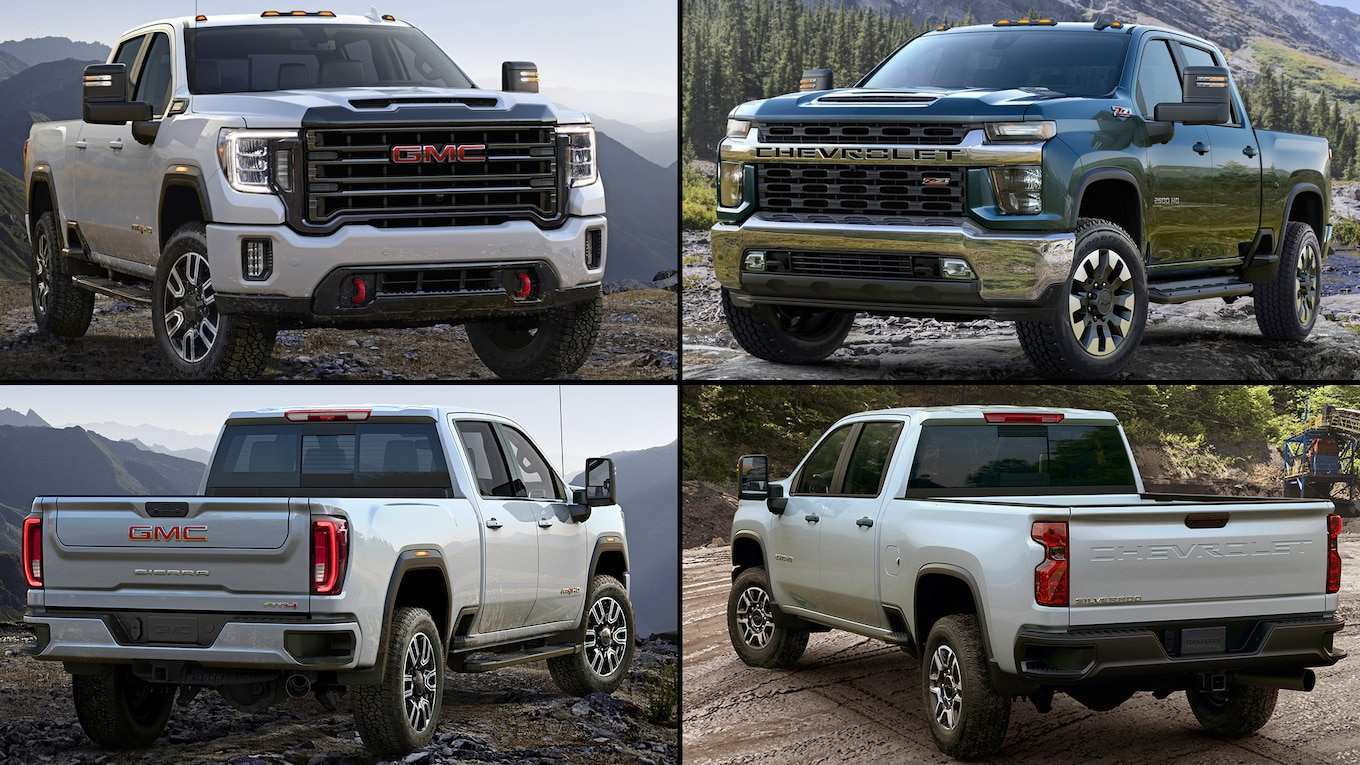 60 All New 2019 Vs 2020 GMC Sierra Hd Review And Release Date